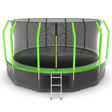 Миниатюра EVO JUMP Cosmo 16ft + Lower net. Батут с внутренней сеткой и лестницей, диаметр 16ft + нижняя сеть 0  мини