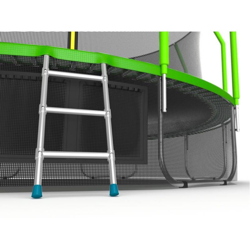 Фотография EVO JUMP Cosmo 16ft + Lower net. Батут с внутренней сеткой и лестницей, диаметр 16ft + нижняя сеть 6