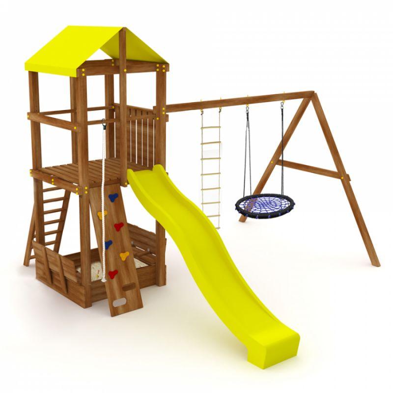 Фотография Деревянная детская площадка Kampfer Great Castle 0
