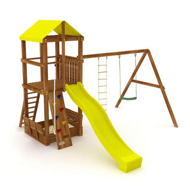 Фотография Деревянная детская площадка Kampfer Super Castle 0
