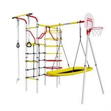 Миниатюра Детский спортивный комплекс для дачи ROMANA Космодром NEW + качели-лодка 0  мини