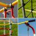 Миниатюра Детский спортивный комплекс для дачи ROMANA Космодром NEW + качели-гнездо 4  мини