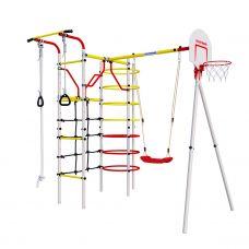 Миниатюра Детский спортивный комплекс для дачи ROMANA Космодром NEW + пластиковые качели 0  мини