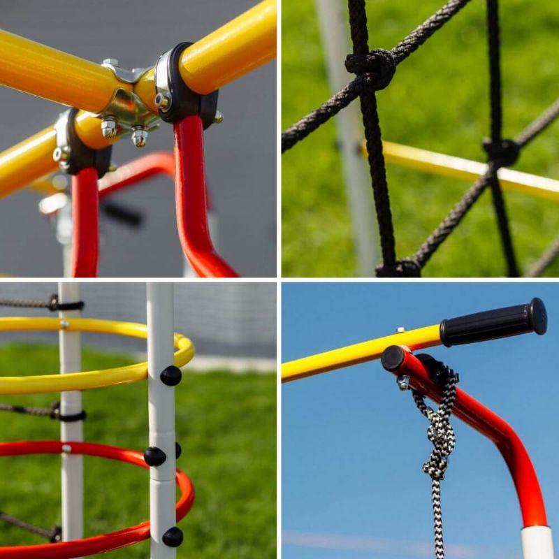 Фотография Детский спортивный комплекс для дачи ROMANA Космодром NEW + цепные качели 4