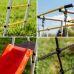 Миниатюра Детский спортивный комплекс для дачи ROMANA Богатырь NEW + качели-гнездо 6  мини