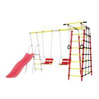 Детский спортивный комплекс для дачи ROMANA Богатырь Плюс - 2 NEW + цепные качели