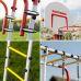 Миниатюра Детский спортивный комплекс для дачи ROMANA Fitness NEW + качели-гнездо 2  мини