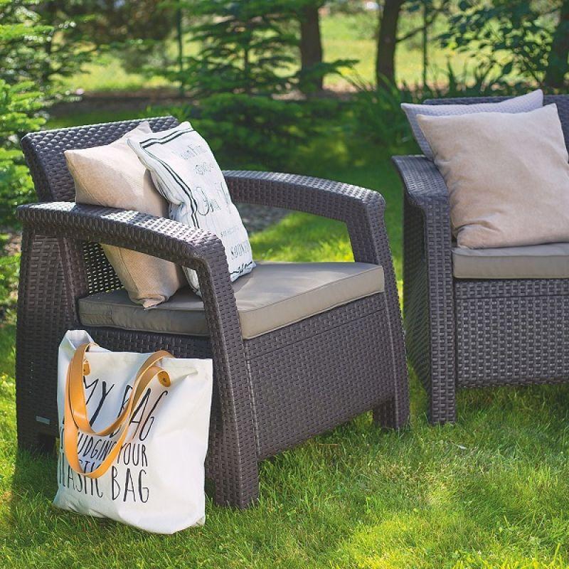 Фотография Кресла садовые Keter Corfu II Duo 3