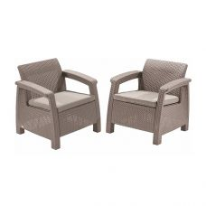 Миниатюра Кресла садовые Keter Corfu II Duo 0  мини