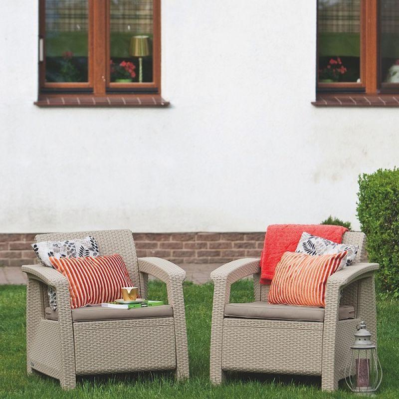 Фотография Кресла садовые Keter Corfu II Duo 4