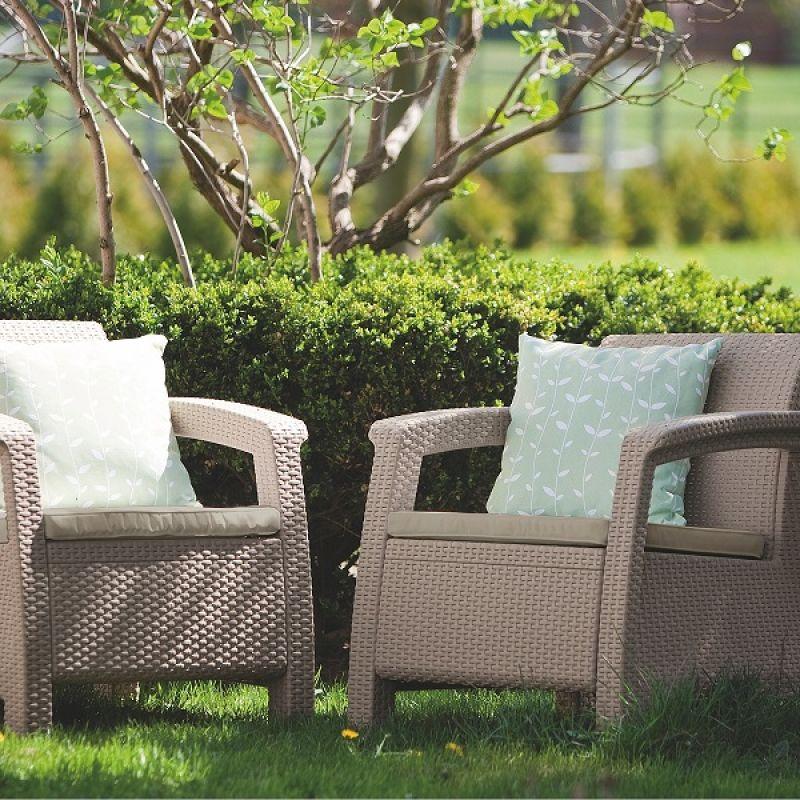 Фотография Кресла садовые Keter Corfu II Duo 5