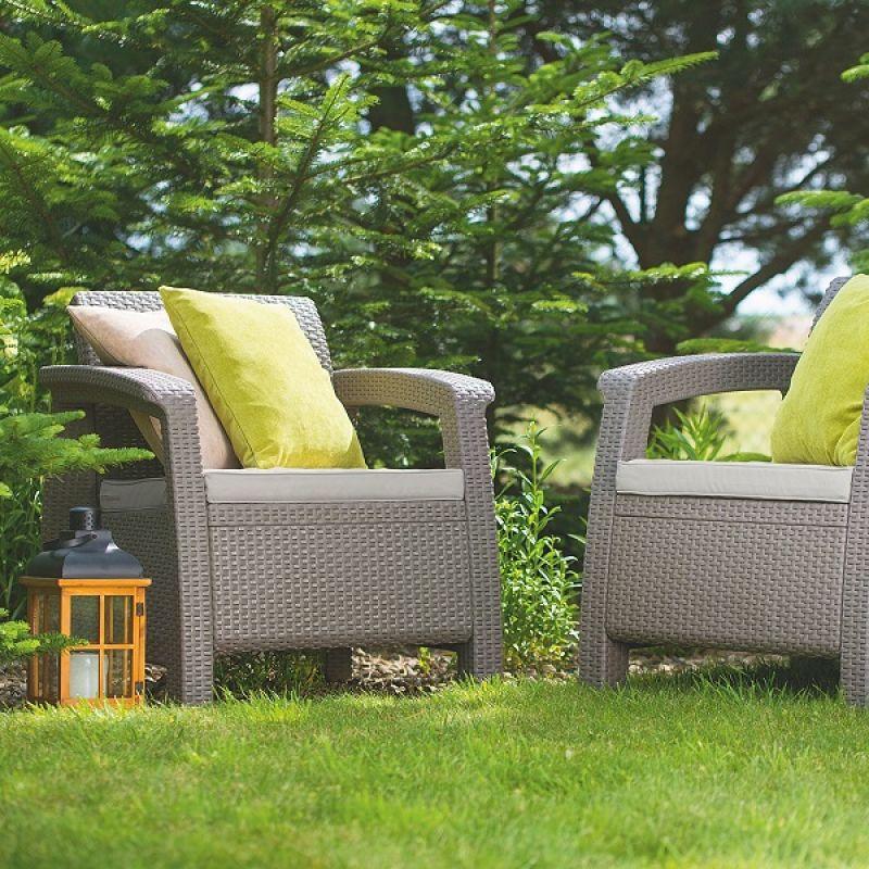 Фотография Кресла садовые Keter Corfu II Duo 6