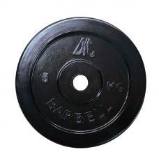 Миниатюра Диск обрезиненный DFC, чёрный, 26 мм, 5кг 0  мини