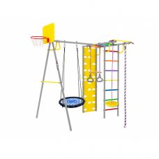 Миниатюра Уличный детский спортивный комплекс Midzumi Rainbow Large L 0  мини