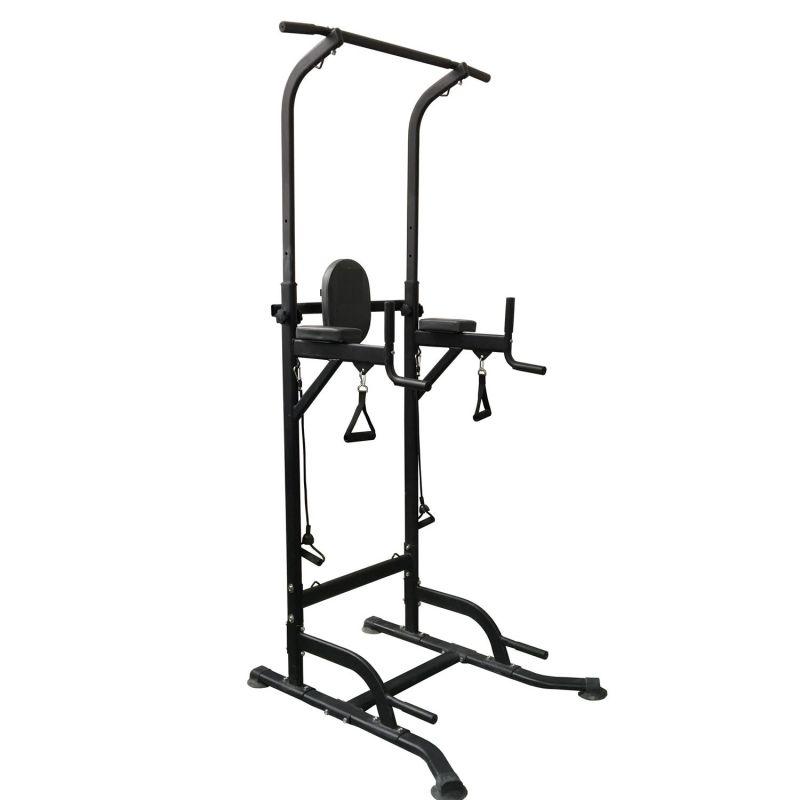 Фотография Силовая стойка для подтягиваний с эспандерами Royal Fitness HB-DG006 1