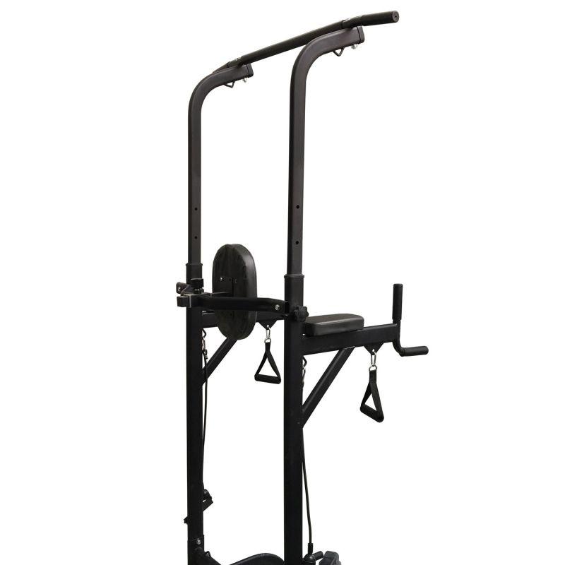 Фотография Силовая стойка для подтягиваний с эспандерами Royal Fitness HB-DG006 2