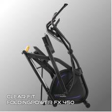 Миниатюра Эллиптический тренажер Clear Fit FoldingPower FX 450 0  мини