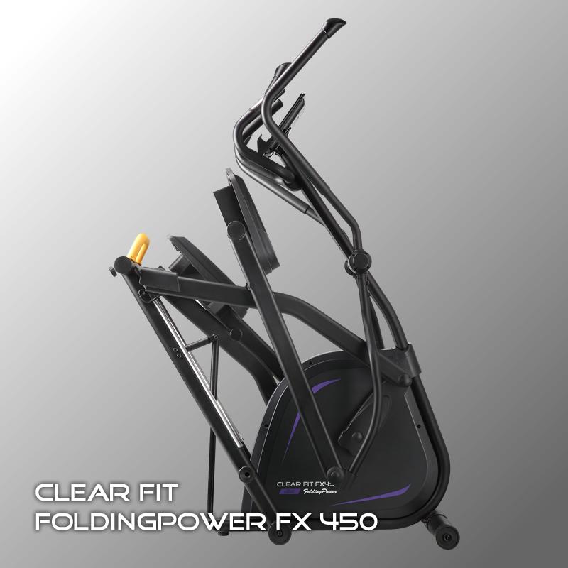 Фотография Эллиптический тренажер Clear Fit FoldingPower FX 450 0