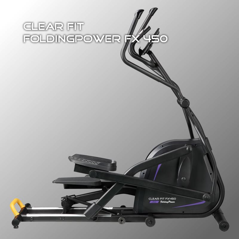Фотография Эллиптический тренажер Clear Fit FoldingPower FX 450 2