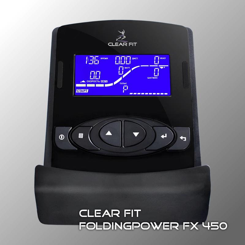 Фотография Эллиптический тренажер Clear Fit FoldingPower FX 450 3