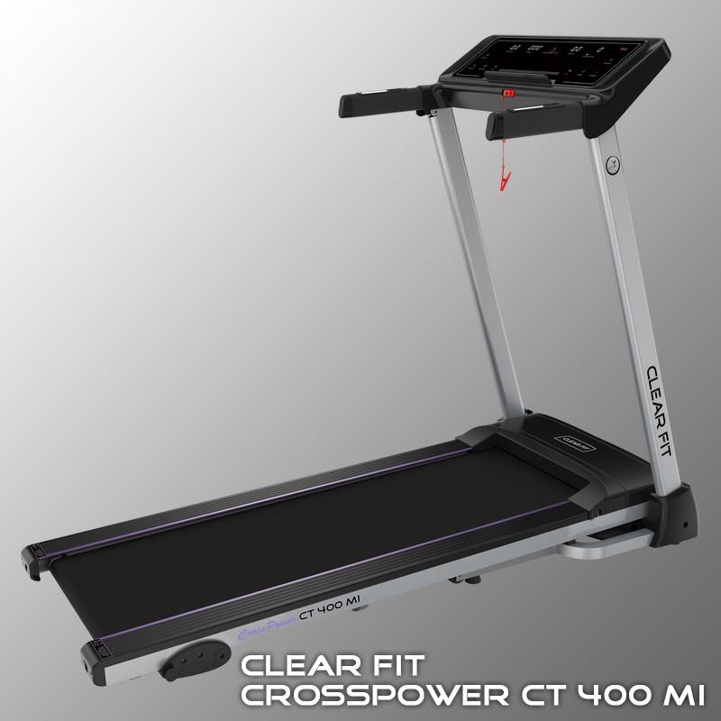 Фотография Беговая дорожка Clear Fit CrossPower CT 400 MI 0