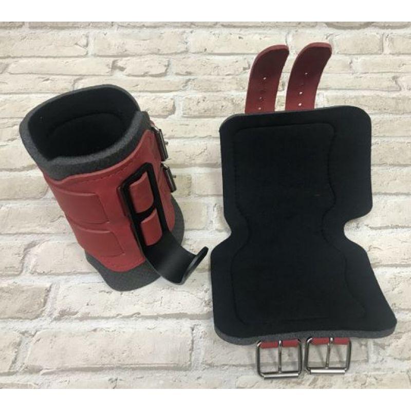 Фотография Гравитационные ботинки кожаные JS-405 красные 4