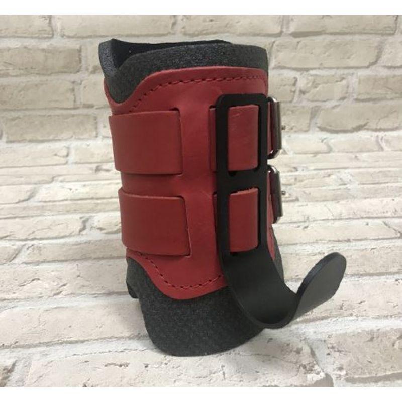Фотография Гравитационные ботинки кожаные JS-405 красные 5