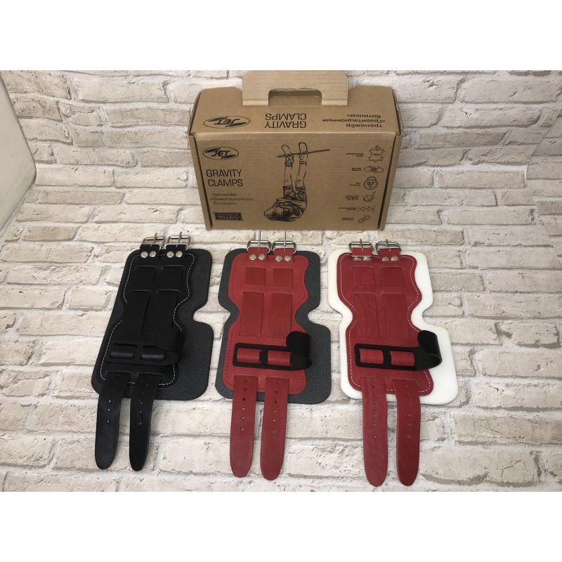 Фотография Гравитационные ботинки кожаные JS-405 красные 1