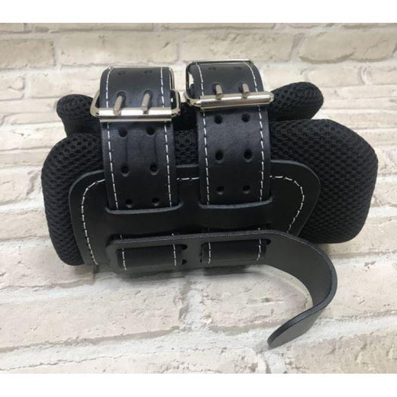 Фотография Гравитационные ботинки кожаные JS-405 черные 0
