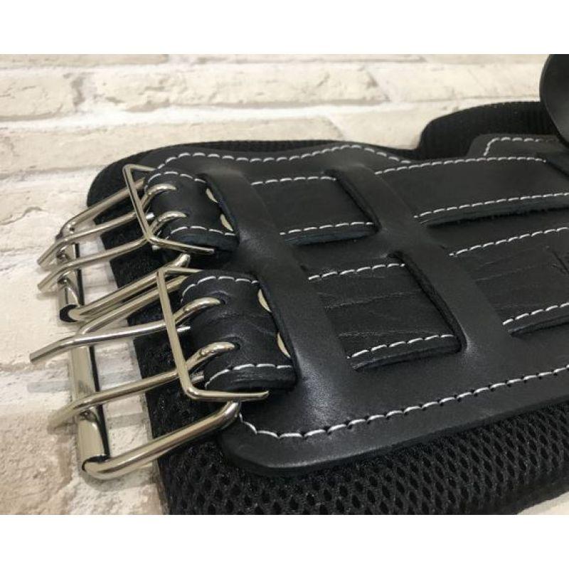 Фотография Гравитационные ботинки кожаные JS-405 черные 3