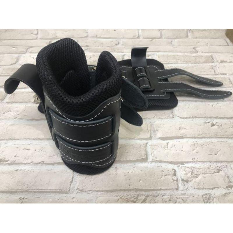Фотография Гравитационные ботинки кожаные JS-405 черные 4
