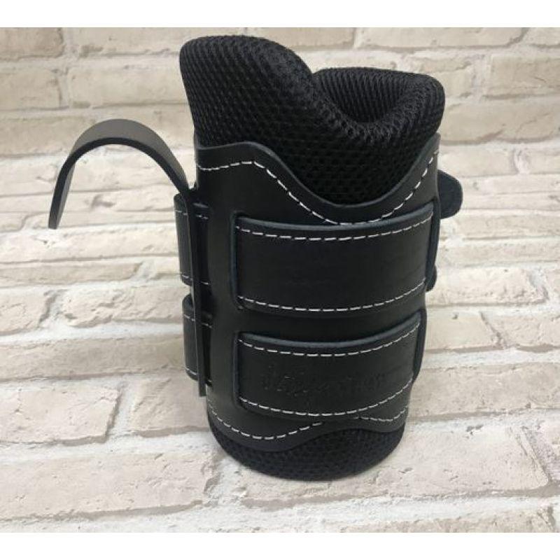Фотография Гравитационные ботинки кожаные JS-405 черные 5