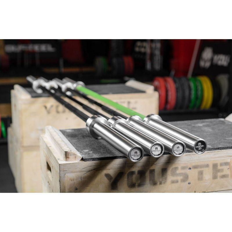 Фотография Гриф Power bar 25 kg, L2450 mm 3