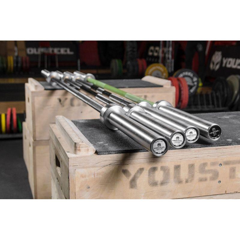 Фотография Гриф Power bar 25 kg, L2450 mm 5