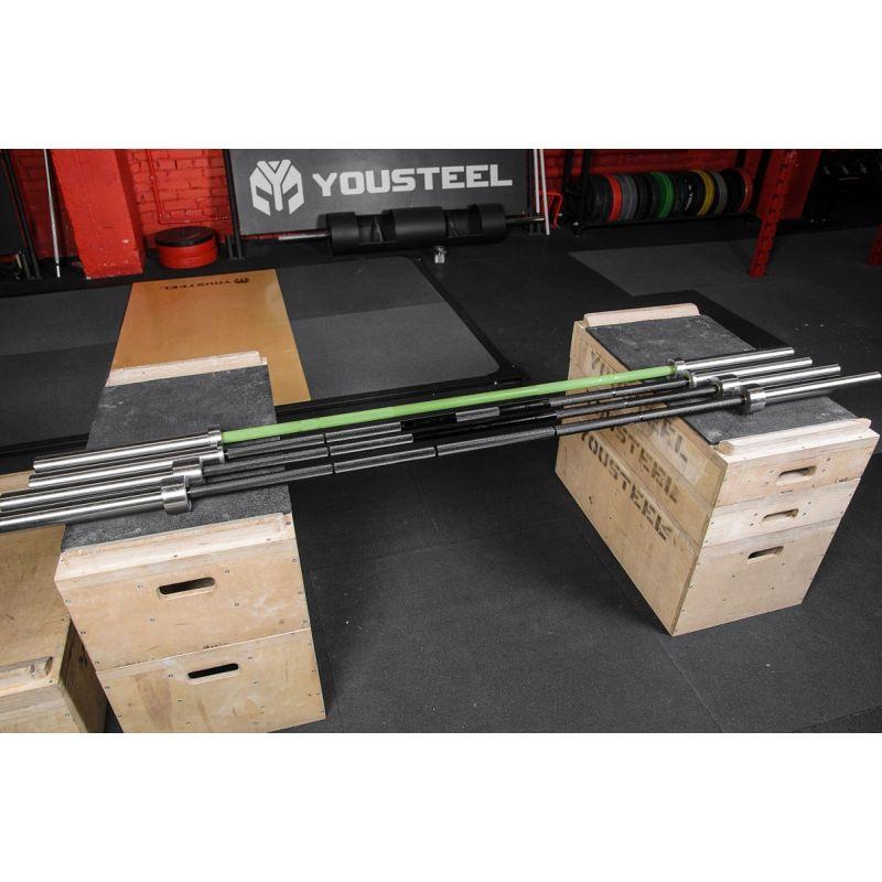 Фотография Гриф Power bar 25 kg, L2450 mm 6