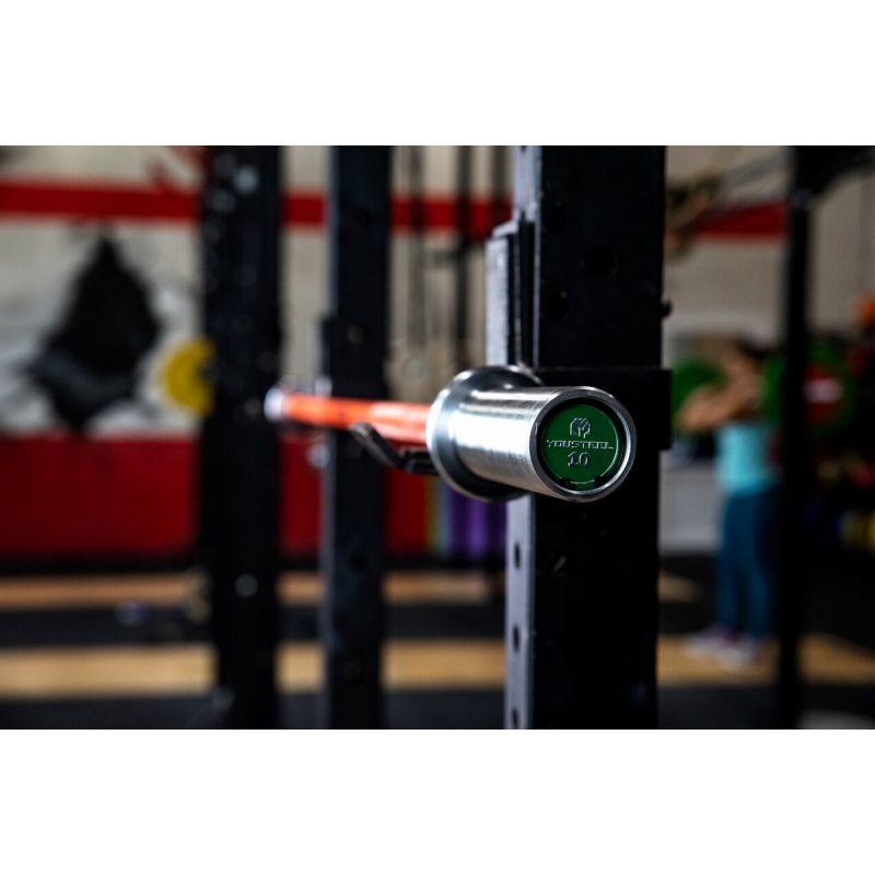 Фотография Гриф CrossTraining Bar XF-10 ORANGE - CHROME 2