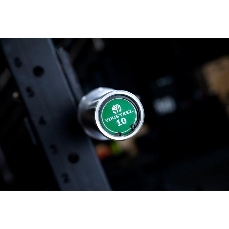 Фотография Гриф CrossTraining Bar XF-10 ORANGE - CHROME 5