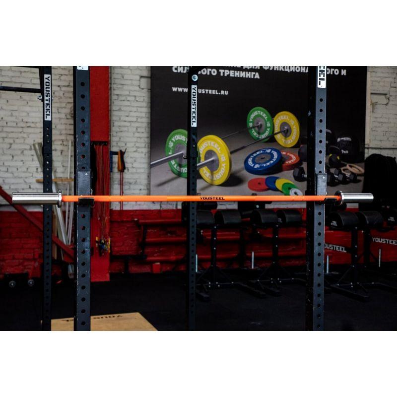 Фотография Гриф CrossTraining Bar XF-10 ORANGE - CHROME 6