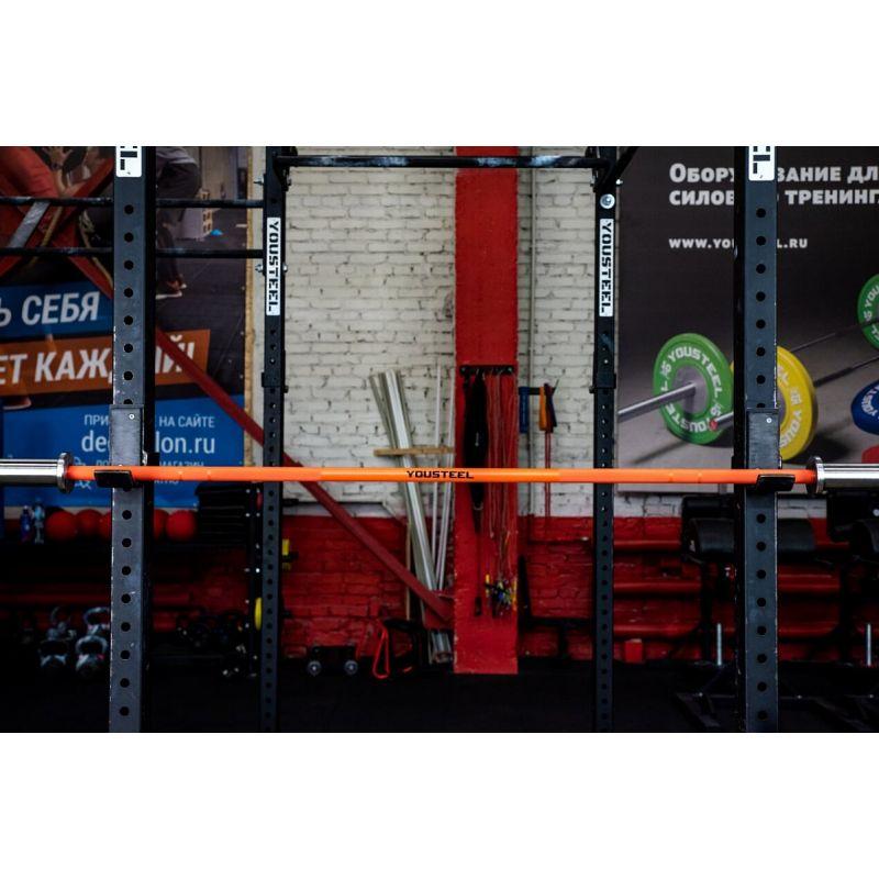 Фотография Гриф CrossTraining Bar XF-10 ORANGE - CHROME 7