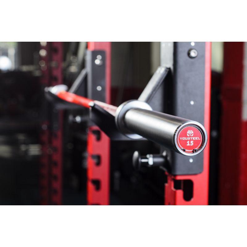 Фотография Гриф CrossTraining bar XF-15 RED - CHROME 0