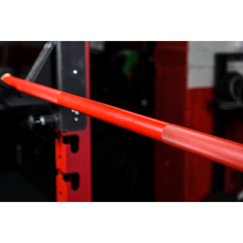 Фотография Гриф CrossTraining bar XF-15 RED - CHROME 3