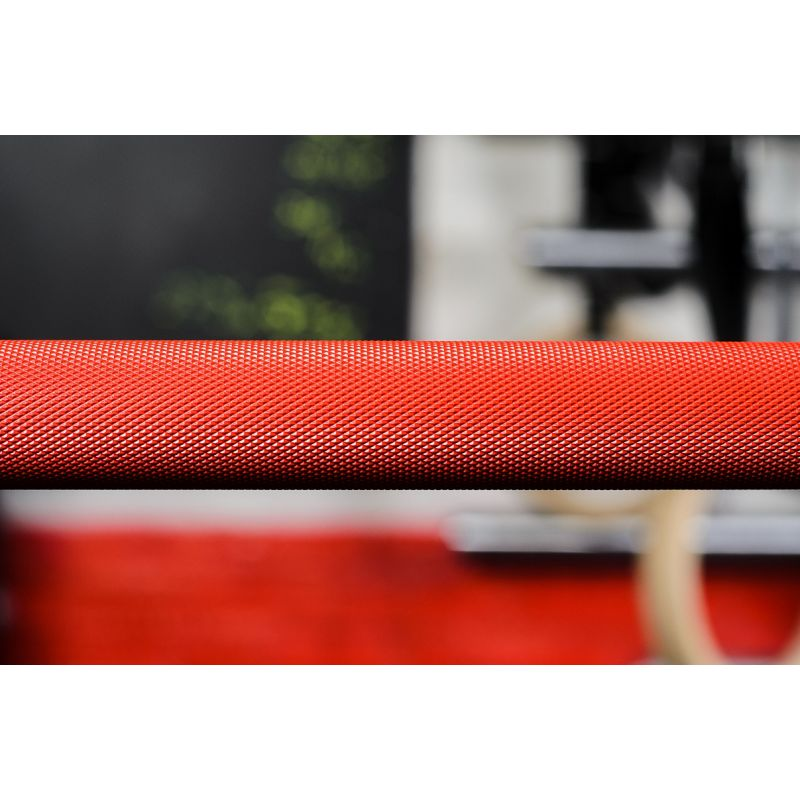 Фотография Гриф CrossTraining bar XF-15 RED - CHROME 4
