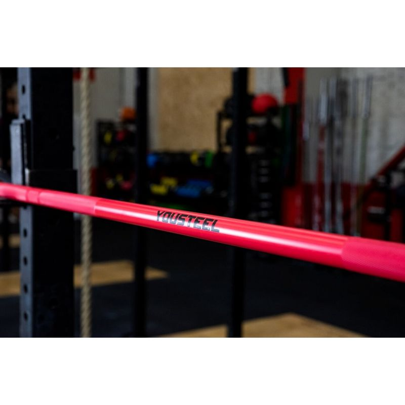 Фотография Гриф CrossTraining Bar XF-15, PINK - CHROME 1