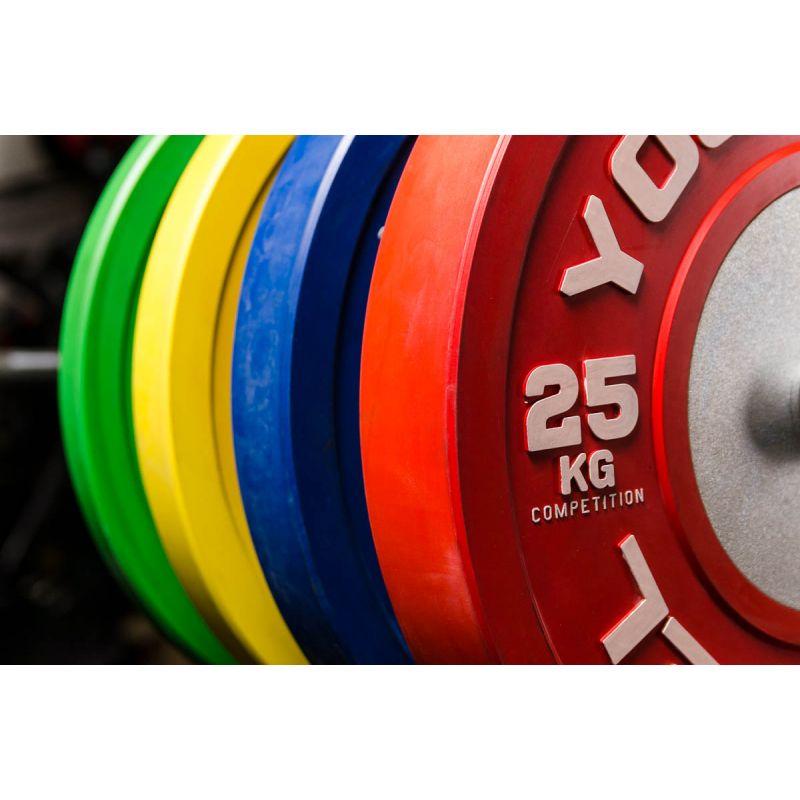 Фотография Диски для штанги соревновательные 10 - 25 кг 9