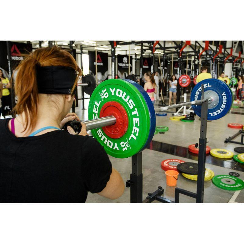 Фотография Диски для штанги соревновательные 10 - 25 кг 10