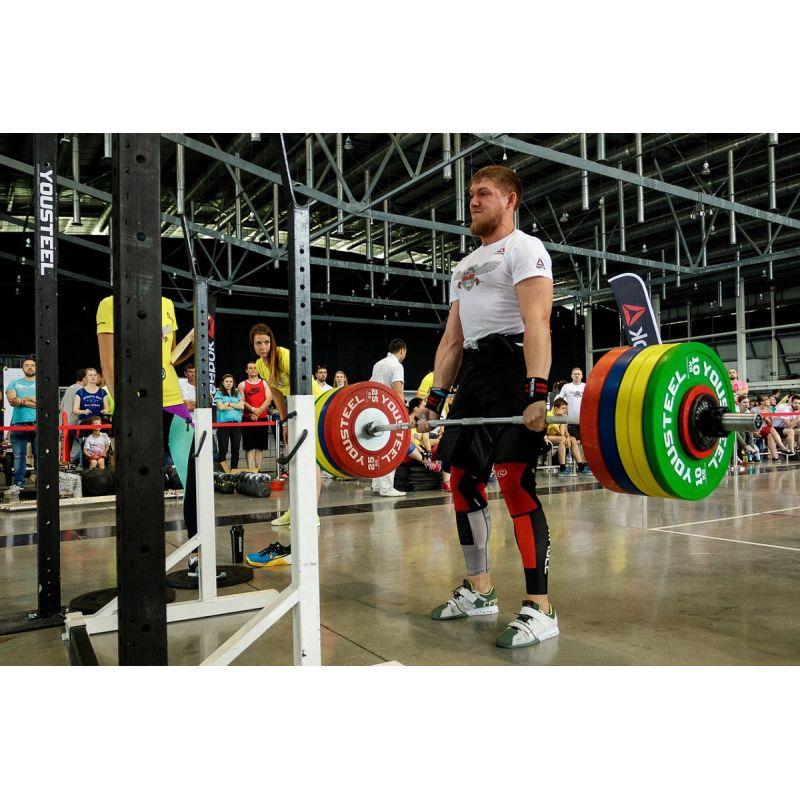 Фотография Диски для штанги соревновательные 10 - 25 кг 11