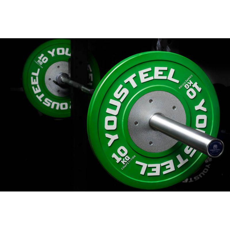 Фотография Диски для штанги соревновательные 10 - 25 кг 0