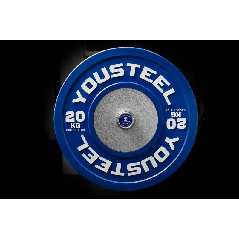 Фотография Диски для штанги соревновательные 10 - 25 кг 3