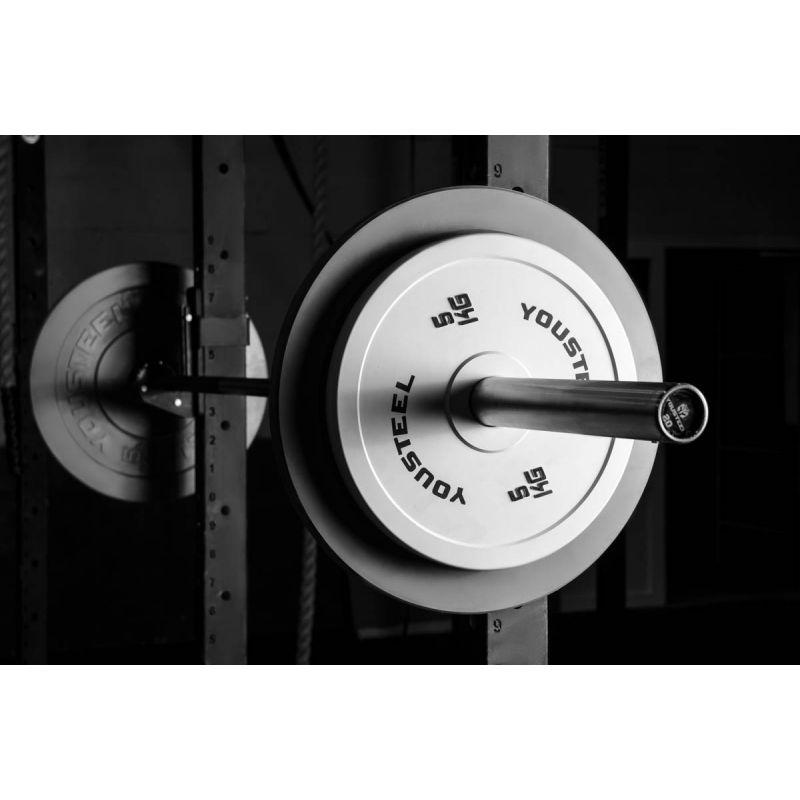 Фотография Диск соревновательный - 5 кг белый 1