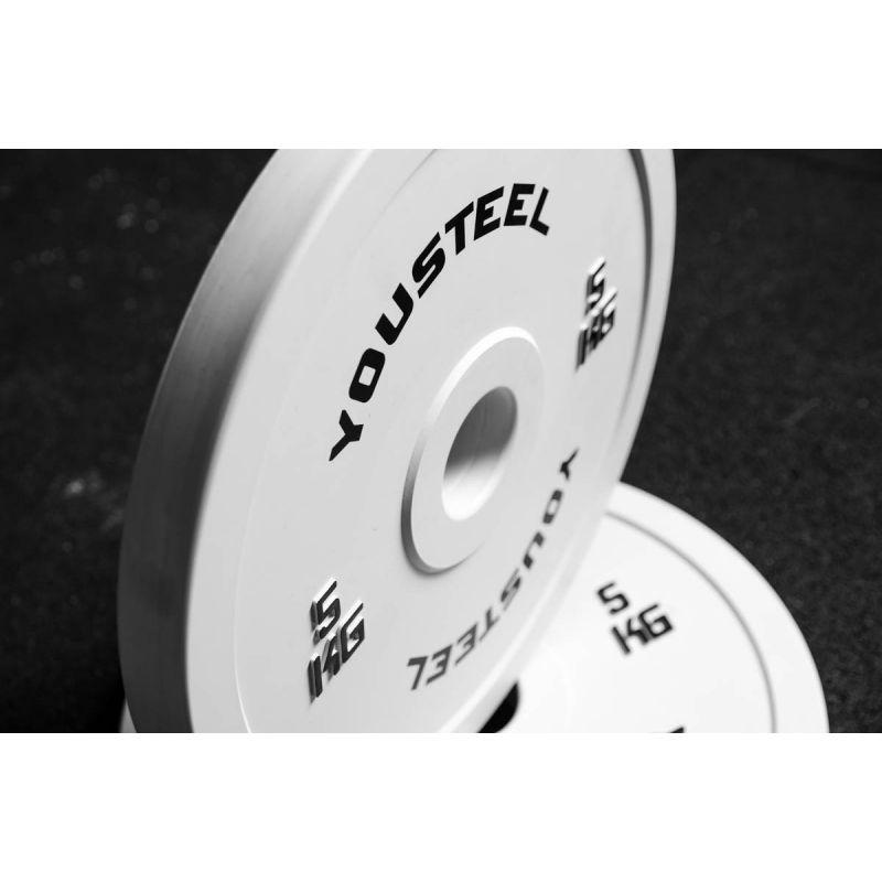 Фотография Диск соревновательный - 5 кг белый 2